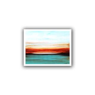 ArtWall Jolina Anthony 'Sunset' Unwrapped Canvas