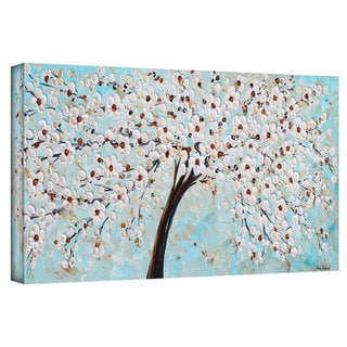ArtWall Jolina Anthony 'Blossoms' Gallery-Wrapped Canvas