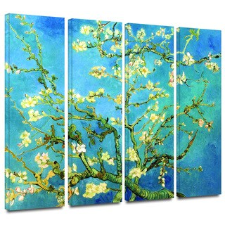Art Wall Vincent van Gogh '4-Piece Almond Blossom' gallery wrapped canvas