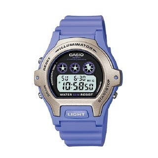 Casio LW202H Illuminator Digital Display Quartz Purple Watch