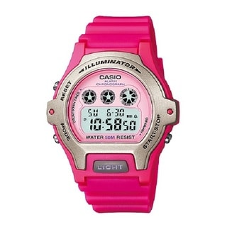 Casio LW202H Illuminator Digital Display Quartz Pink Watch