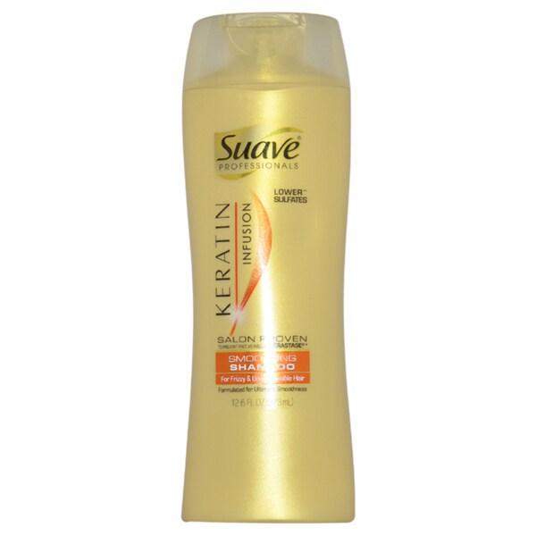 Suave Keratin Infusion Smoothing 12.6-ounce Shampoo