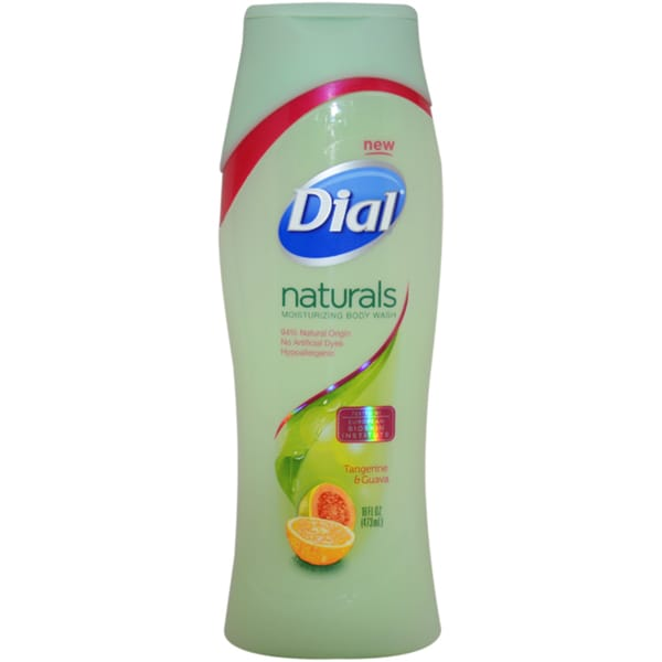 Dial Naturals Tangerine and Guava 16-ounce Moisturizing Body Wash
