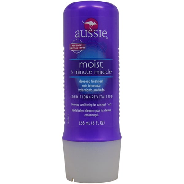 Aussie Moist 3-minute Miracle 8-ounce Deep Treatment