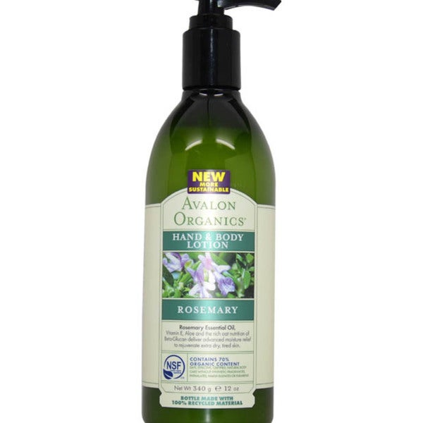 Avalon Organics Rosemary 12-ounce Hand & Body Lotion
