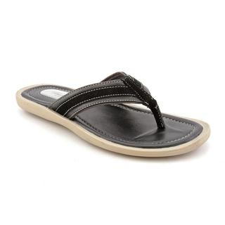 Kenneth Cole NY Men's 'Beach Pass' Leather Sandals (Size 10 )