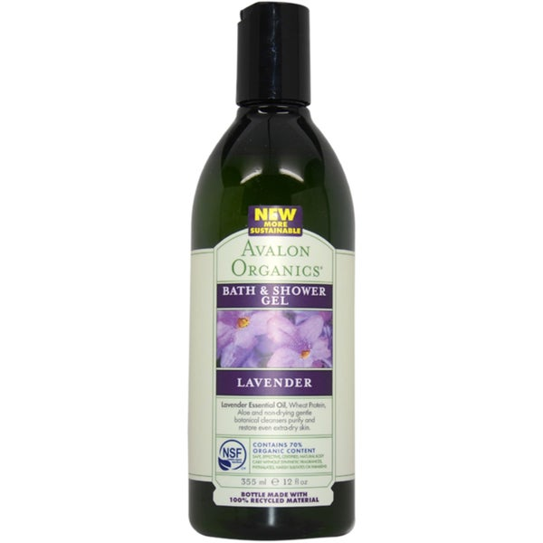 Avalon Organics Bath & Shower Lavender 12-ounce Gel