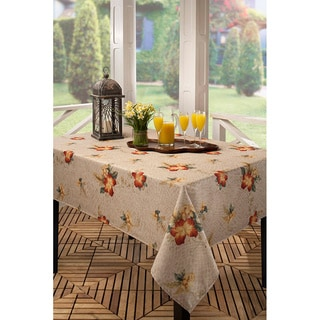 Crocodile Hibiscus Indoor/Outdoor Tablecloth (Multiple Sizes Available)