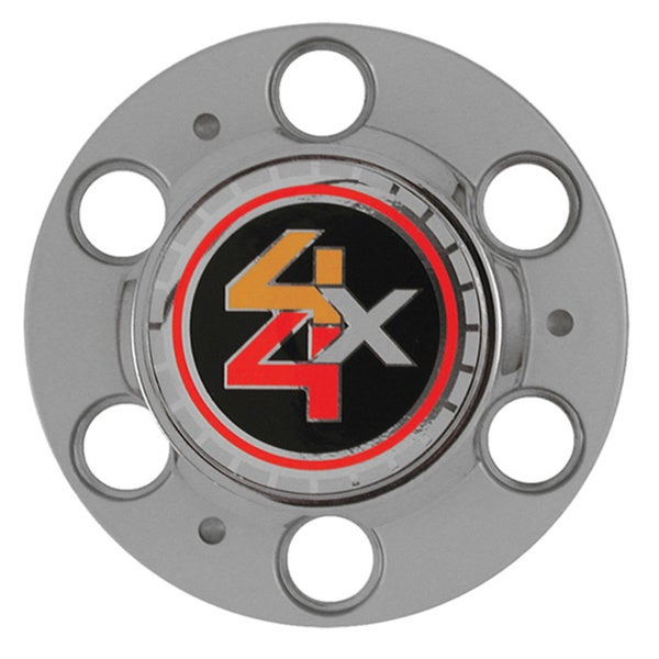 Oxgord Bolt-on Chevy/ GMC Trucks 4X4 6-lug Rally Wheel Hub Center Cap