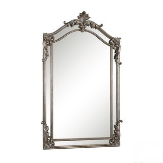 Christopher Knight Home Antiqued Silvertone Wall Mirror