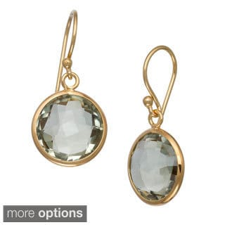 Gioelli JENNE Sterling Silver Gemstone Round Briolette Earrings