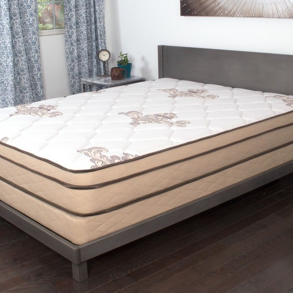NuForm Quilted Euro Top 9-inch Twin XL-size Foam Mattress