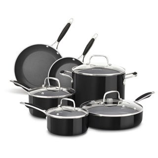 KitchenAid Aluminum Nonstick 10-piece Cookware Set