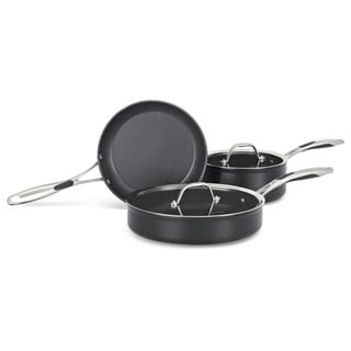 KitchenAid Hard Anodized Nonstick Black Diamond 5-piece Cookware Set