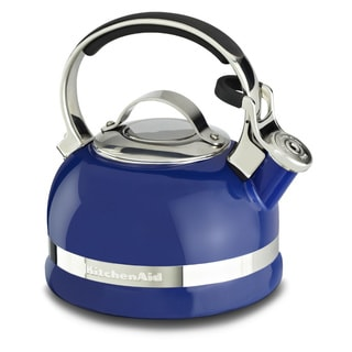 KitchenAid 2.0-quart Full Handle Blue Kettle