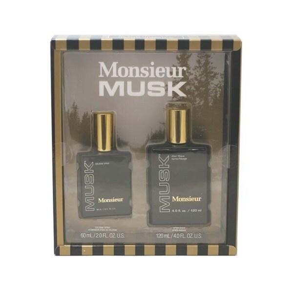 Dana Monsieur Musk Men's 2-piece Gift Set