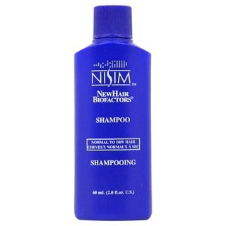 Nisim Shampoo for Hair loss for Normal To Dry Hair 2-ounce Shampoo