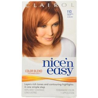 Clairol Nice 'n Easy 112 Natural Dark Auburn 1-application Permanent Hair Color
