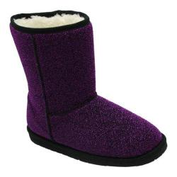 Girls' Dawgs Majestic Sparkle Boots Purple