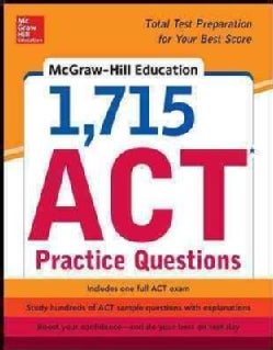 Mcgraw-hill Education 1,715 Act Practice Questions (Paperback)