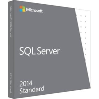 Microsoft SQL Server 2014 Standard Edition - Complete Product - 1 Ser