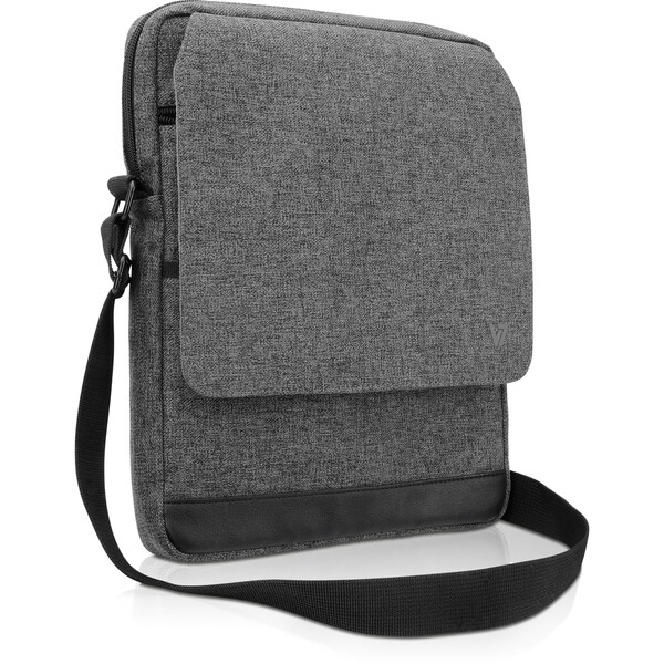 "V7 TD31GRY-1N Carrying Case (Messenger) for 10.1"" Tablet, iPad, iPad"