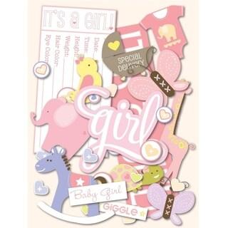 Darice K&Company Baby Girl Die Cut Pack