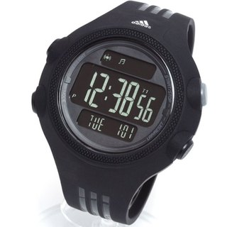Adidas Men's 'Questra' Black Digital Watch