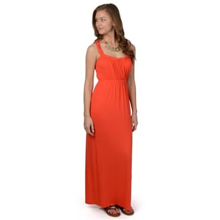 Hailey Jeans Co. Junior's Empire Waist Knit Maxi Dress