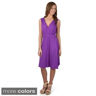 Journee Collection Women's Sleeveless Knit Dress