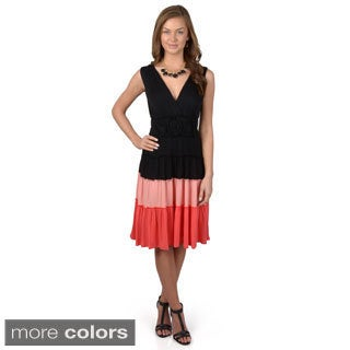 Sangria Women's Sleeveless Knit Dress