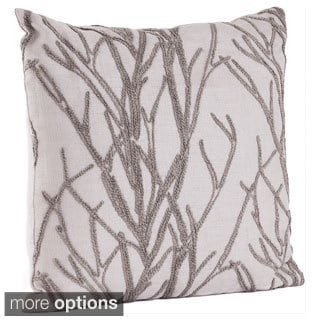 French Knot Design Throw Pillow (Multi Colors Available)