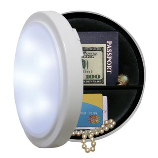 Battery Operated Closet Light with Concealed Safe 8 Inches