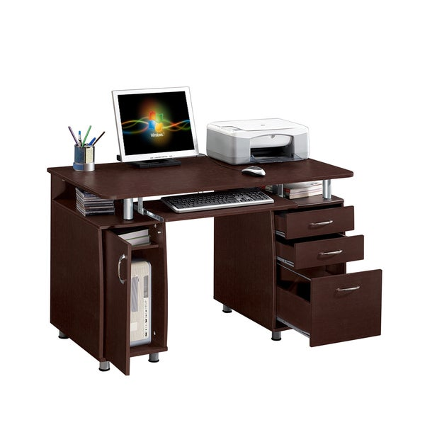 Modern Designs Multifunctional Office Desk with File Cabinet
