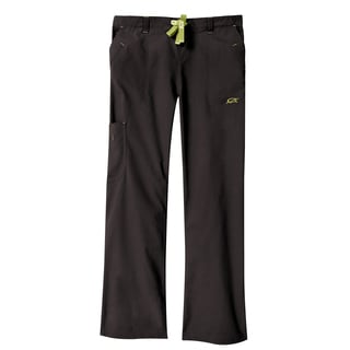 IguanaMed Women's Carbon Black Legend Cargo Scrubs Pant