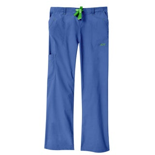 IguanaMed Women's Azure Blue Legend Cargo Scrubs Pant