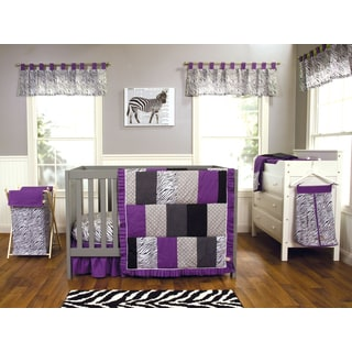 Trend Lab Grape Expectations 5-piece Crib Bedding Set