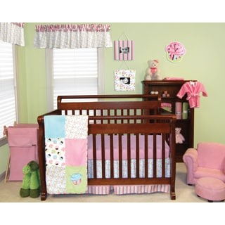 Trend Lab Cupcake 5-piece Crib Bedding Set