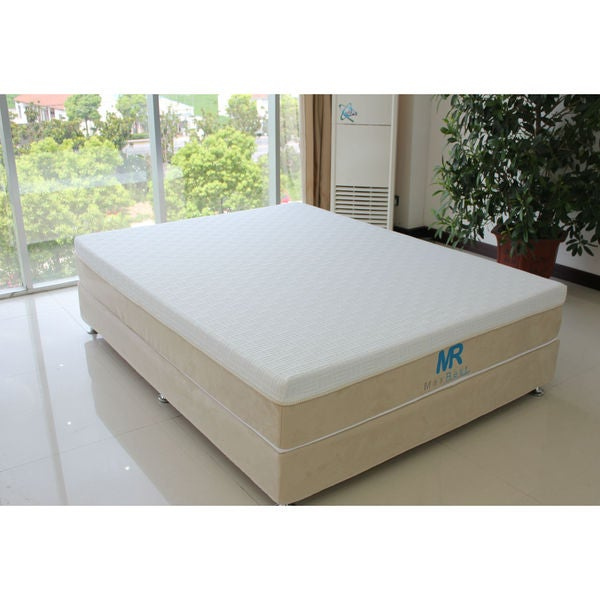 MaxRest Eco-friendly 10-inch Queen-size Gel Memory Foam Mattress