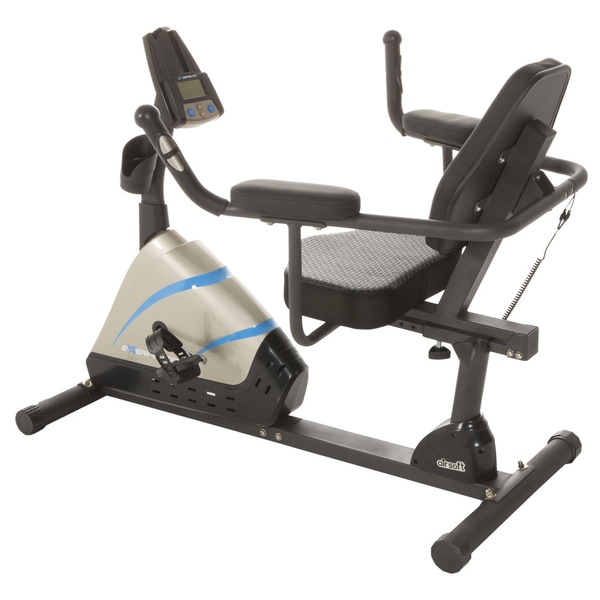 Exerpeutic 2000 High Capacity Programmable Magnetic Recumbent Bike
