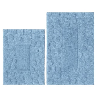 Celebration Pebbles Cotton 2-piece Bath Rug Set