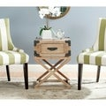 Safavieh Dunstan Grey Wash Accent Table