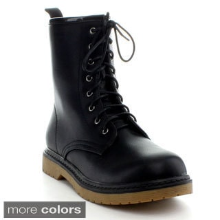Reneeze Women's 'Daily-1' Ankle Combat Boots