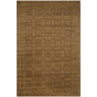Safavieh Hand-knotted Nepalese Multi Wool/ Silk Rug (4' x 6')