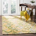 Safavieh Hand-knotted Bohemian Bleach/ Brown Jute Rug (4' x 6')