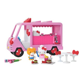 Jada Toys Hello Kitty Drivin' Diner Playset