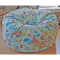 review detail Rainbows Anti-Pill Fleece Washable Bean Bag Chair
