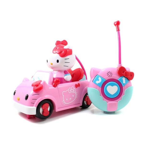 Jada Toys Hello Kitty Radio Control Vehicle