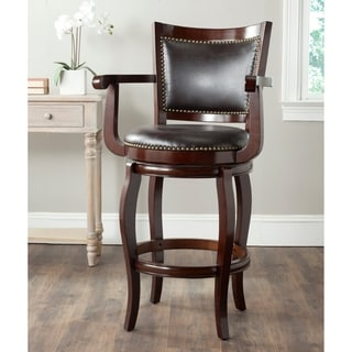 Safavieh Gitano Sierra Brown/ Brown Seat Bar Stool
