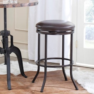 Safavieh Althorn Brown Bar 30-inch Stool